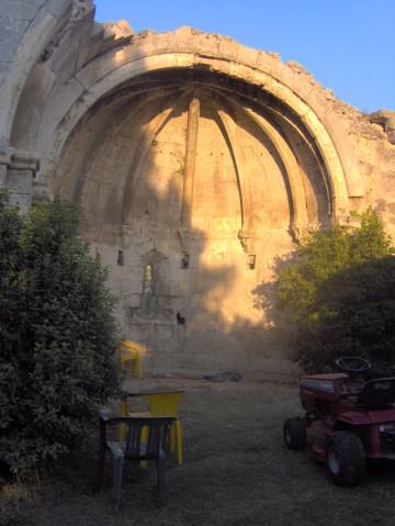 Chapelle Sainte-Croix du Castelet - Fontvieille -Montmajour