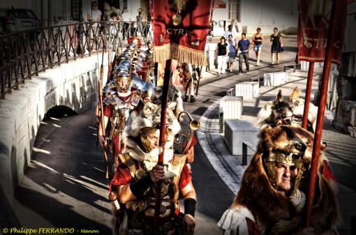 Legio VI Victrix - le défilé romain à Arles - Arelate 2012