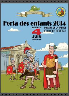 Féria des enfants Nîmes 2014 avec Legio VI Victrix