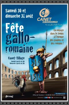Canet en Roussillon fête gallo romaine avec legio Vi victrix