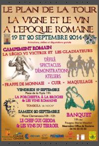 Plan de la Tour La legio VI et Via Temporis fête du vin et de la vigne