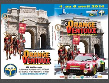 Rallye Orange Ventoux asa méditerrannée Legio VI Victrix