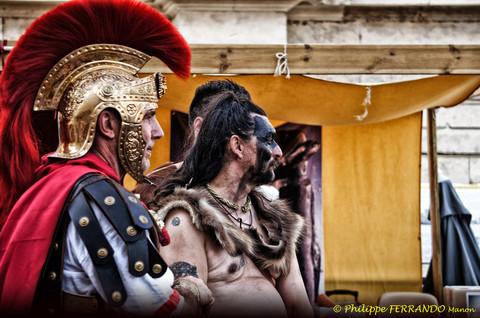 LEGIONNAIRES A ARLES AU DEFILE D'ARELATE 2012