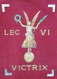 Enseigne Legio VI Victrix la Victoire de Rome