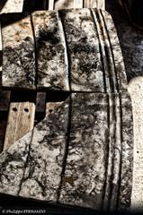 Placages de marbre découverts le 6 sept. à Arles Rhône