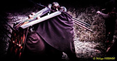 LEGIO VI VICTRIX ARLES ENTRAINEMENT PLAN D'ORGON