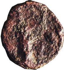 R/ Aigle de face. Petit Bronze, Région de Marseille, - 49, LT 1972, W17, C2.