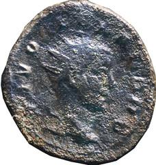 TRAJAN DECE (249-251)- Restitution pour Alexandre Sévère  54 A/ Tête radiée à droite. DIVO ALEXANDRO